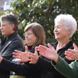 Barb Hilding, Cathy Thomas, Jan Klimala, Harriet Merrick, Pat Shirley