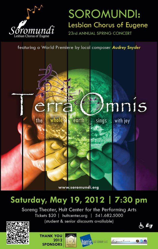 2012 Terra Omnis Concert Poster